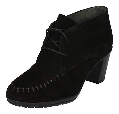 Scholl Schuhe Stiefeletten ISSENIA 2.0 761170-50-8 Noir, Größe:41 EU