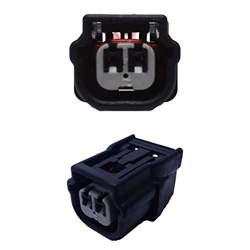 Conector de repuesto para coche, inyector de gasolina, SUMITOMO de 2 pines (FEMALE) para moto, scooter, quad