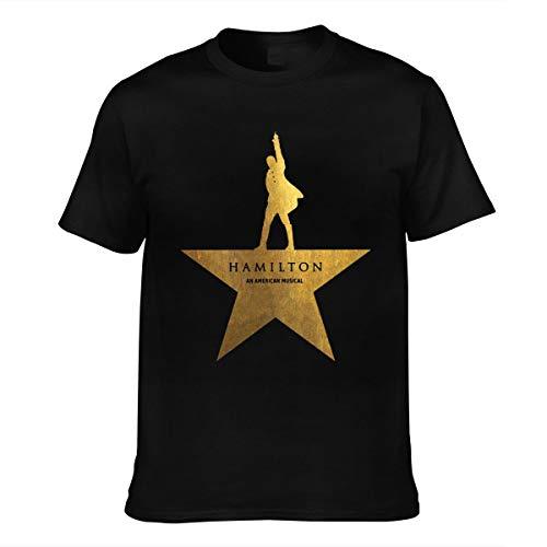 T Shirt for Men Women Inspired by Drama-Hamilton Short Sleeve Tee Black