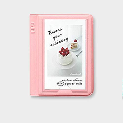 28+1 Bolsillos álbum de Fotos 3 Pulgadas Mini álbum de Fotos para Fujifilm Instax Mini 7s 8 8+ 9 25 50s 70 90