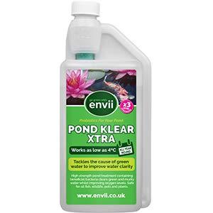 Envii Pond Klear Xtra - Clarifie l'eau verte d'un bassin - Traite 40 000 L