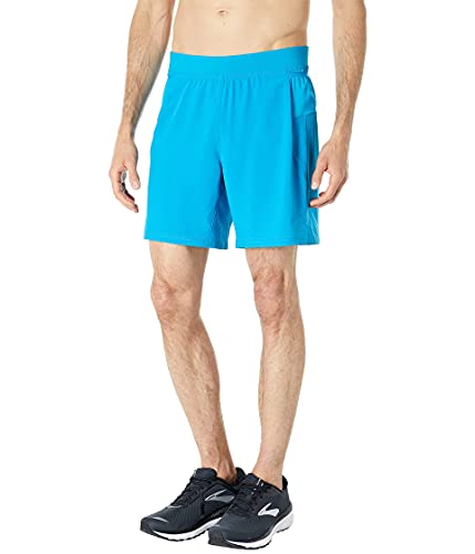 Brooks Sherpa 7' 2-in-1 Shorts Electric Blue MD 7