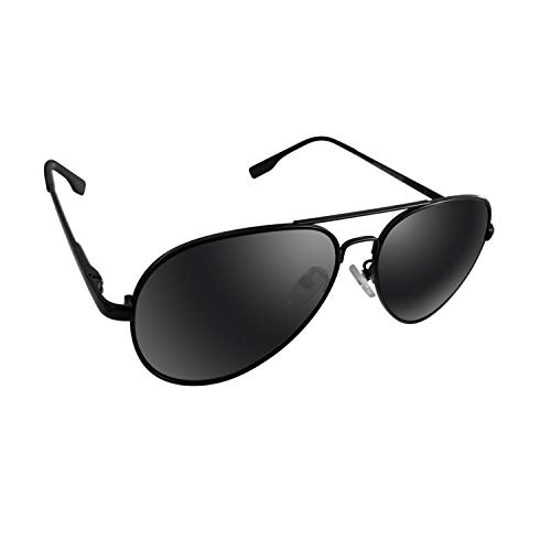 Small Polarized Aviator Sunglasses for Boys Kids and Youth