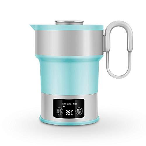 Shuihu Travel Electric Kettle - Mini hervidor Plegable portátil para el hogar (Capacidad: 0.6L), A, Hervidor de Agua