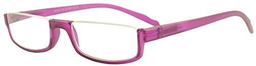 Sunglass Stop - Super Cute Purple Prescription Reading Rx +2.75 Readers Glasses (Matte Purple , +2.75)