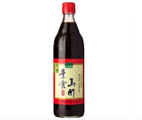 Leezen Vegetarian Black Aceto 600ml - L'aceto nero vegetariano è un condimento ricco, scuro, agrodolce molto simile all'aceto balsamico invecchiato