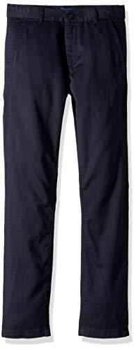 The Children's Place boys Uniform Skinny Chino Pants, New Navy, 7 Slim US