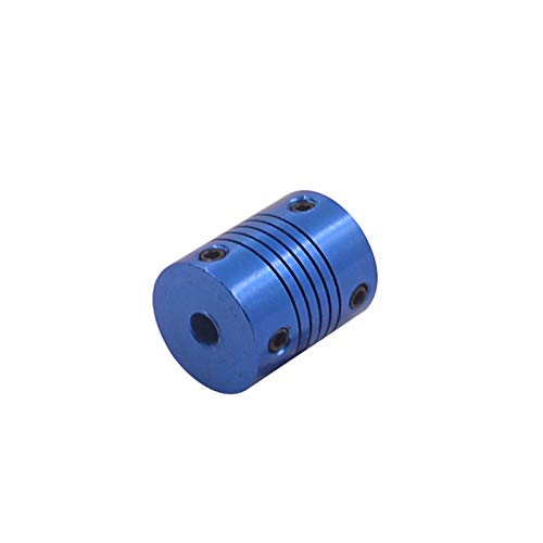 NIANZAI Hongfubang Diameter Coupler 3d Printer Z Axis Ballscrew Diameter 20mm Length 25mm Flexible Coupling Stepper Motor Coupler For Linear Shaft (Inner Diameter : 4mm to 5mm)