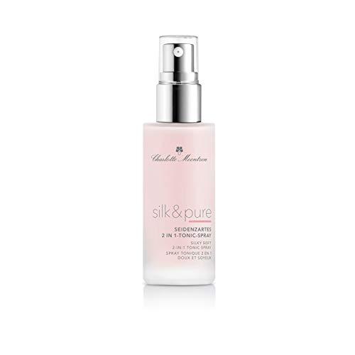 Charlotte Meentzen Silk & Pure Seidenzartes 2 in 1 Tonic-Spray - Ideal nach dem Reinigen, zum Fixieren von Make-Up und als Feuchtigkeitsspender für zwischendurch - 95 ml
