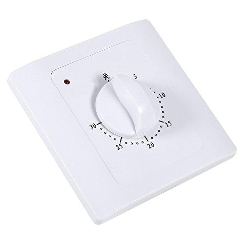 KUIDAMOS Interruttore Timer, Presa Timer Presa a Risparmio energetico ad Alta precisione di sincronizzazione Ecologica per elettrodomestici