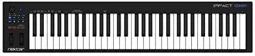 Nektar GX61 Impact USB MIDI Keyboard Controller with Nektar DAW Integration