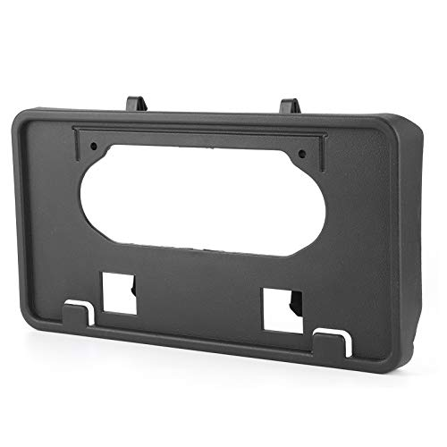 April Gift Plate Holder, 9L3Z‑17A385‑A License Plate Holder, License Plate Mount Black License Plate Bracket Replacement Fit for Ford F-150 2009-2014 Car Factory