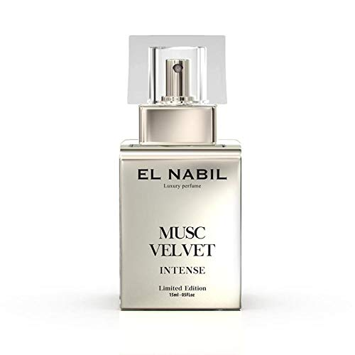 Musc Velvet 15ml INTENSE Eau de Parfum Spray - Herren Duft - El Nabil - mit Moschus Musk - LIMITED EDITION