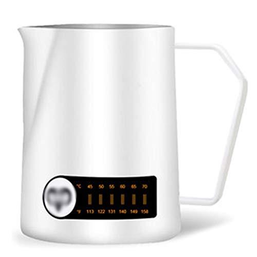 SJQ-coffee pot CafetièRe 304 TempéRature en Acier Inoxydable Bouteille d'eau Chaude à la Maison vers Le Bas 3 Tasse Tasse Tasse de Fleur
