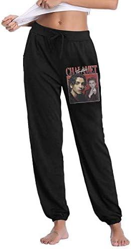 zhoukouamale1 Timothee Chalamet jaren 90 vintage lange broek voor dames