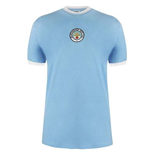 Score Draw Manchester City 1972 thuisshirt thuisshirt