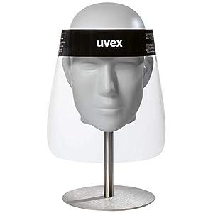 31f8pi7T6eL. SS300  - uvex 9710 Visera Protectora para la Cara - Mascara Protectora Facial - Desechable - Transparente - para Hombres y Mujeres