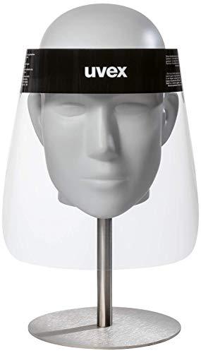 uvex 9710 PET-Gesichtsschirm - Schutz-Visier - Spuckschutz - Visier für Damen & Herren