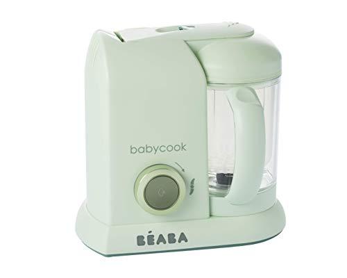 Béaba Babycook Solo MACARONS Edición Limitada - Robot de cocina 4-en-1 (UK IMPORT - Color: Verde Jade)