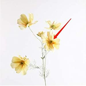Artificial and Dried Flower Silk Cosmos Artificial Flowers Heads Wedding Party Beauty Bouquet Home Decor