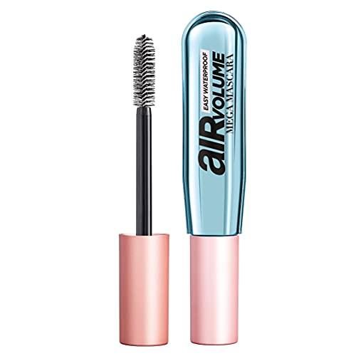 L Oréal Paris Mascara Waterproof Air Volume Mega, Mascara Volumizzante, Nero, 8.5 ml