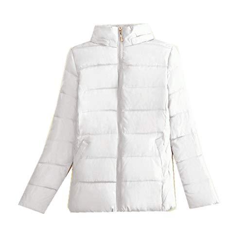 N\P La primavera y el otoño de las mujeres básicas chaqueta de invierno cálida chaqueta de las mujeres delgado ligero abrigo de algodón casual de las mujeres chaqueta corta