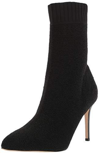 Sam Edelman Women's Oksana Fashion Boot, Black Varsity Knit, 8.5 M US