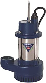 Glentronics S3033-NS Sump Pump Cast, Stainless Steel, 1/3 hp