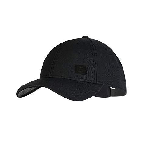 Buff Solid Gorra Baseball, Unisex Adulto, Negro, Talla única
