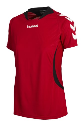 Hummel Damen Trikot Team Player, true red, L, 03941-3062
