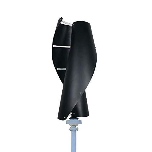 FLYT Black Vertical Helix 400W 12V Wind Turbine Wind Generator Home Use
