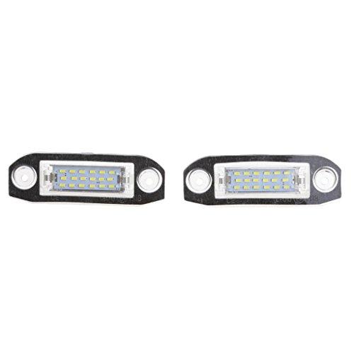 #N/a Montaje Directo de Luz LED de Placa de Matrícula Trasera de Coche