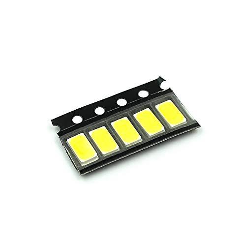 100 piezas 5630/5730-CW/WW 0.5W-150Ma 50-55lm 6500K Luz blanca SMD 5730 5630 LED 5730 diodos (3.2~3.4V)