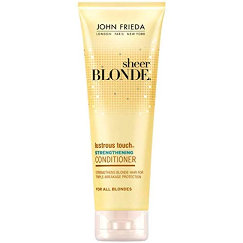 John Frieda Sheer Blonde Lustrous Touch Strengthening Conditioner - 8.45 oz by John Frieda