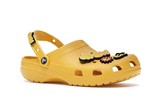 Crocs X JB with Drew House Unisex Classic Clog Yellow