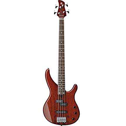 YAMAHA TRBX174EW Guitarra eléctrica, 4Strings, 1.6cm, medium, 2.1cm, 2.44cm, 4cm, Marrón (Root Beer)