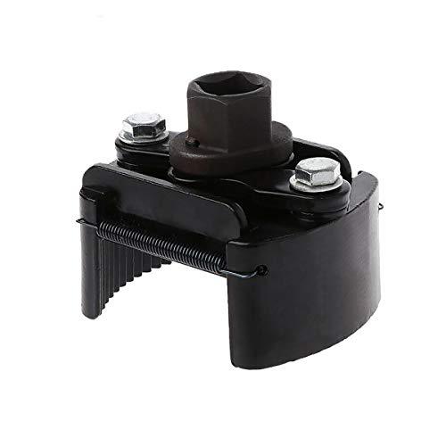 Ölfilterschlüssel SENRISE Verstellbarer Filterschlüssel Universal Zwei-Krallen-Ölfilter Entferner Werkzeug für Auto Motorrad, schwarz