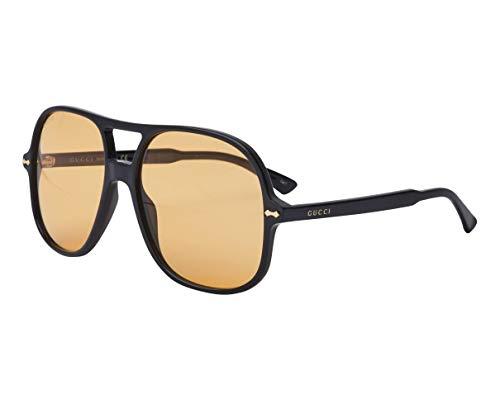 Gucci GG0706S svart/gul 58/16/145 män solglasögon