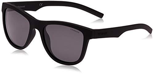 Polaroid Unisex-Kinder PLD 8018/S Y2 Yyv 47 Sonnenbrille, Schwarz (Black/Grey)