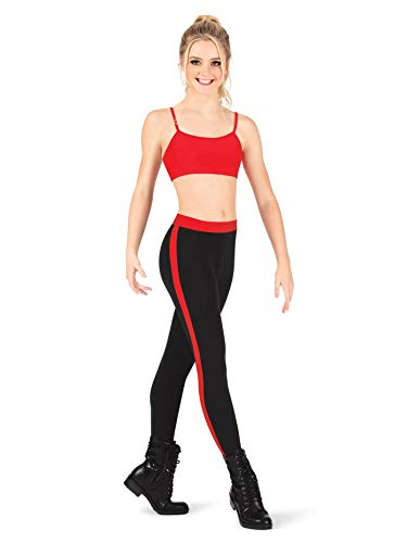 Dance Department Adult Side Stripe Leggings D3003