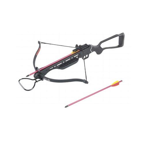 Wizard 150lb Crossbow Fiberglass Stock Aluminum 2 Arrows