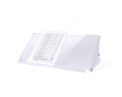 Dataflex 49.401 Addit Ergo Doc Dokumentenhalter, verstellbar 401, transparent