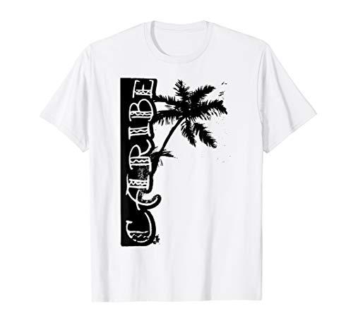 Karibik Palme schwarz