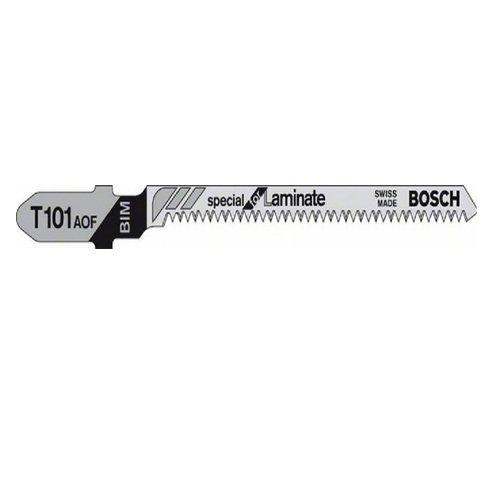 Bosch Professional 2608636432 Stichsägeblatt 3 Stichsägeblätte T 101 AOF Laminat