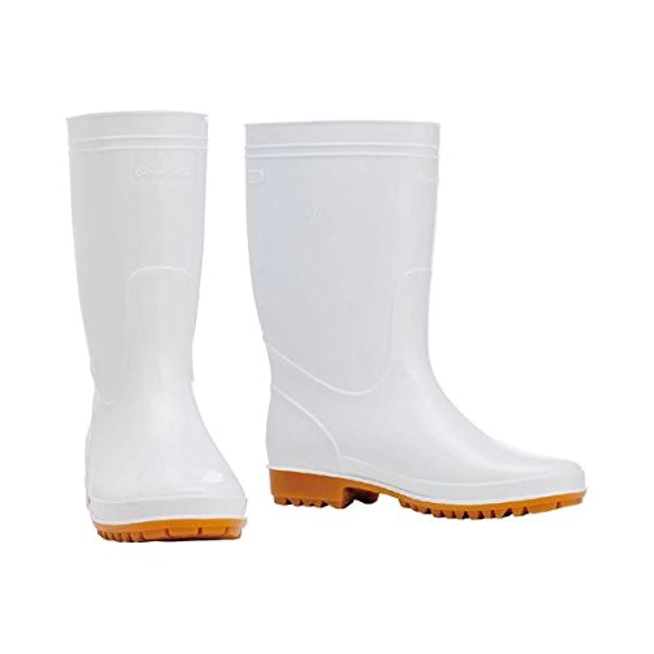 くるくる醜い雪だるま(まとめ) 川西工業 耐油衛生長靴 ホワイト 26.5cm 8300ホワイト26.5 1足 【×3セット】 ds-1572679