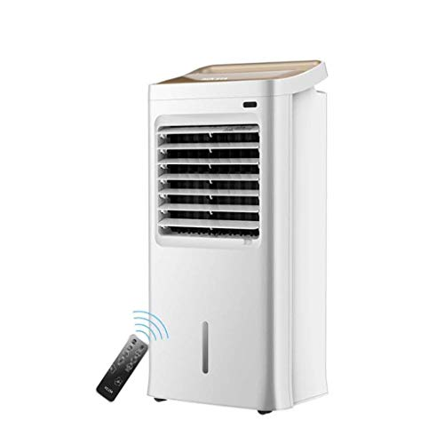 HJHNB 4-in-1 mobile air conditioning unit with remote control, domestic air cooler with air cooler heating and fan function, 3 fan speeds, 12-hour timer