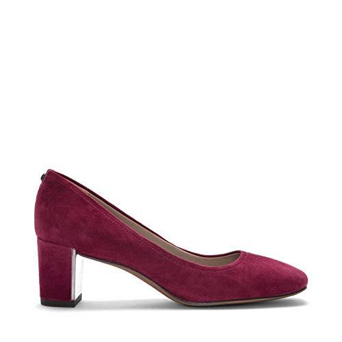 Donald J Pliner Womens Corin-d Suede Round Toe Classic Pumps, Currant, Size 7.5
