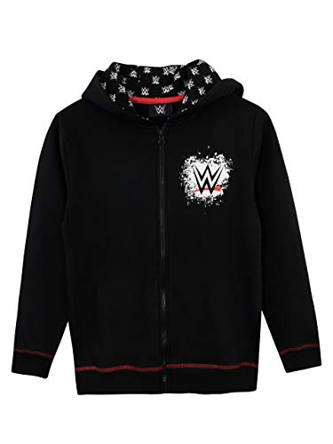 WWE Boys' World Wrestling Entertainment Hoodie Size 5 Black