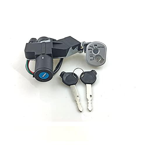 JINYAN Am-PM El Nuevo Bloqueo de Encendido Apto para DIO Z4 AF55 AF56 AF57 AF58 AF63 Accesorios de Motocicleta Interruptor de Encendido Tecla de Bloqueo