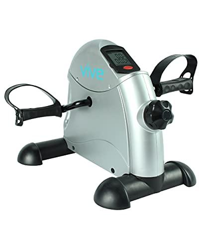 Vive Pedal Exerciser - Stationary Exercise Leg Peddler - Low...